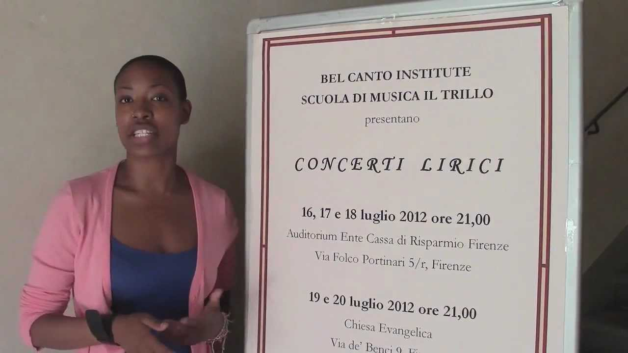 Bel Canto Institute's Summer Programs in Florence in Action